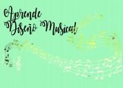 Aprende diseño musical