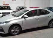 Toyota corolla version 2017