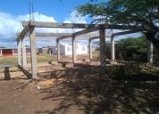 En venta terreno con construccion en carirubana