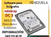 Venta de software para ecografos mindray dc 3