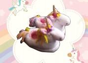 Pantuflas unicornio para los pequeños de la casa.