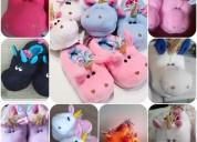 Pntuflas unicornio para los pequeños de la casa