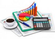 Ofrecemos balance personal / certificado ingreso
