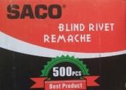 "Remache saco #43 1/8""x5/16"" 500 pz."