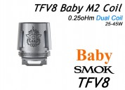 Smok tfv8 beast coils m2 - 0.25 ohm paquete de 5 r
