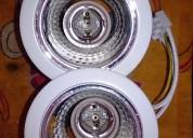 2 bases lámpara ojo de buey grande nuevas.