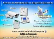 Instalacion de camaras alarmas controles de acceso y seguridad porlamar