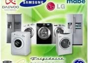 Mantenimiento de lavadoras y secadoras 04124157112