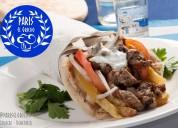Gastronomía griega para eventos en caracas