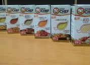 Condimentos super chef-food y spices.