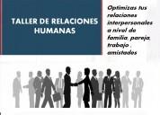 Taller como mejorar las relaciones humanas