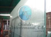 Laminas de vidrio claro, gris, bronce