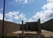 Twon house en construcción