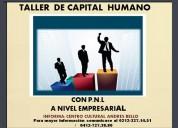 Taller de capital humano  a nivel empresarial