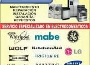 Agente de servicio de neveras lavadoras whirlpool