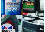 Aceites lubricantes para carro de 15w -40 y 20w-50