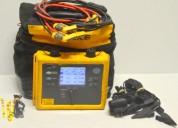Analizador de cargas eléctricas fluke power logger