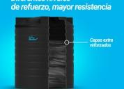 Tanques para agua extra reforzados marca resinca..
