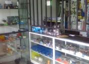 Inventario de mercancia autoperiquitos y accesorio