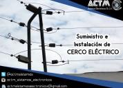 Instalacio de cercos electricos