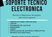 Revision y reparacion de equipos electronicos
