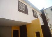 Venta de tonw house en ciudad ojeda