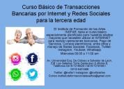 Curso básico transacciones bancarias por internet