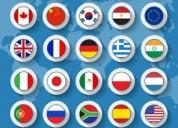 Cursos y clases de idiomas
