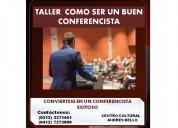Taller como ser un buen conferencista