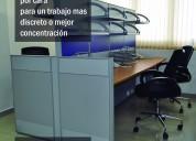 Oficinas y cubículos en alquiler