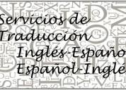 Servicios de traducción