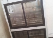 Nevera exhibidora vertical 4 puertas refristar