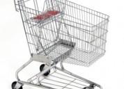 Carros y cestas de supermercados