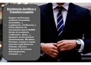Asistencia juridica y trámites legales