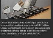 Soporte y mantenimiento de equipos informaticos.