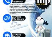 Servicios de soporte y asistencia tecnica