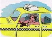 Urgente me ofrezco como chofer para taxi padre familia