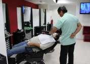 Solicito barberos o barberas