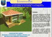 Kit estructural metalico viviendas economicas