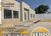 En venta local c c san carlos barcelona