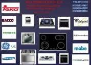 Tecnicos en reparacion de cocinas topes hornos teka