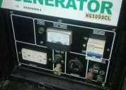 Generador de electricidad a gasolina nuevo