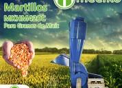 Molino de martillo mkhm420c para granos de maíz