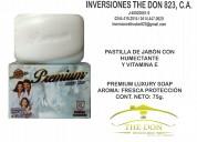 Jabón premium: ideal para el cuidado de tu piel.