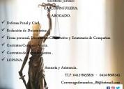 Escritorio jurídico abg. carlos aguilera