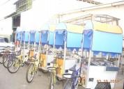 Mascotin carros triciclos de comida rapida equipad