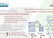 Certificación internacional scrum master omz-edu