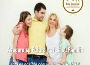 Asegure su futuro y el de su familia