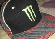 Gorra plana monster energy