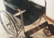 Vendo silla de ruedas casi sin uso